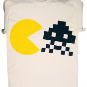 Pac and Invader T-Shirt (White)