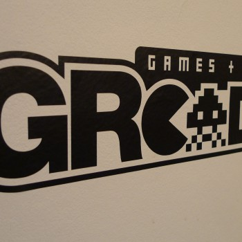 GRcade Vinyl Decal Angle