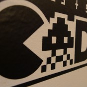 GRcade Vinyl Decal Close Up